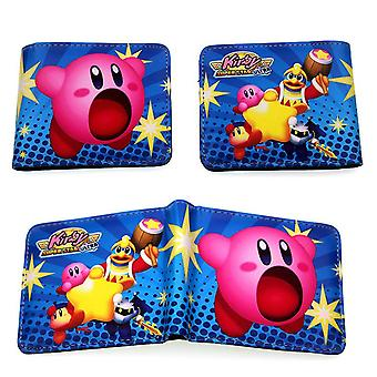PU leather Coin Purse Cartoon anime wallet - Kirby #187