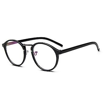 Fashion Transparent Round Glasses Clear Frame Women Spectacle Myopia Men Nerd