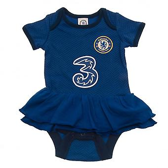 Chelsea FC Baby Tutu Hame Bodysuit (Pakkaus 2)