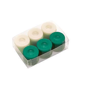Backgammon Deluxe piedras verde y marfil 36mm