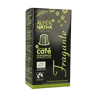 Orgaaninen Tuoksuva Kahvi 10 kapselia