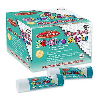 Economy Glue Classpack, .28 Oz., 30 Ct., Clear