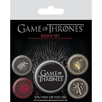 Game of Thrones Odznak štyroch veľkých domov (Balenie 5)