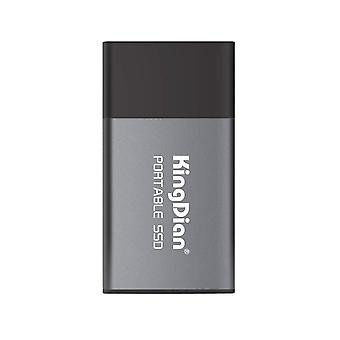 Kingdian 500GB ekstern ssd usb 3.0 3.1 bærbart solid state-drev (500 GB)