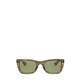 Ray-Ban RB2248 striped yellow unisex sunglasses