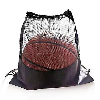 Kannettava jalkapallo varastointi verkko, järjestäjä monitoiminen koripallo verkko pussit