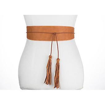 Wrap With Tassel Belt