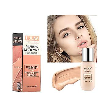 35ml- Matte Liquid Foundation Make-up, Öl-Kontrolle, langanhaltend, Concealer