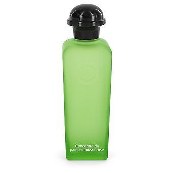 Eau de Pamplemousse Rose Concentre Eau de Toilette Spray (Tester) by Hermes 3,3 oz Concentre Eau de Toilette Spray