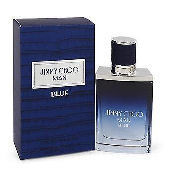 Jimmy Choo Man Blue Eau De Toilette Spray By Jimmy Choo 1.7 oz Eau De Toilette Spray