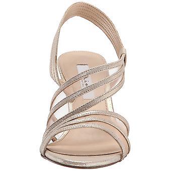 Nina Womens VITALIA Open Toe Ankle Strap Classic Pumps