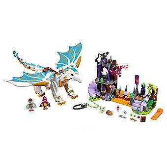 Elfy długo po the rescue dragon budulec klocki cegła edukacyjna zabawka