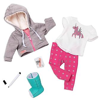 Our generation get well soon deluxe outfit