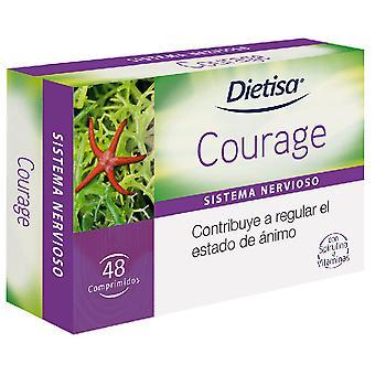 Dietisa Courage komponenter