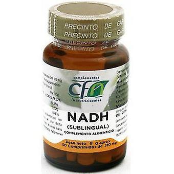 CFN Nadh sublingual 10 Mg, 30 comp,