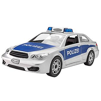 Revell 00802 1:20 Junior Polizei Auto Kunststoff Modellkit