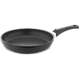 frying pan induction 28 cm aluminium black