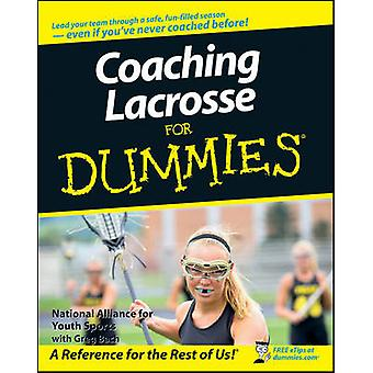 Coaching Lacrosse For Dummies by Greg Bach