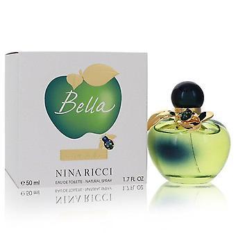 Bella nina ricci eau de toilette spray por nina ricci 556714 50 ml