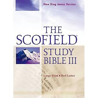 The Scofield Study Bible III NKJV Large Print Edition by Edited by Oxford University Press