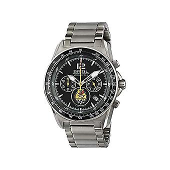 BREIL - Men's Watch Collection ABARTH TW1831 - Chrono Gent Wristwatch with Black Analog Dial - Ref Movement. 7612901626581