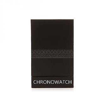 Watch Chronowatch 'L'Astus' Automatic White Leather Strap - HF5330C3BC1