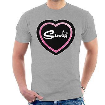 Sindy Pink Love Heart Men's T-Shirt