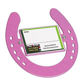 Stubbs S2670 Horseshoe Name Plate