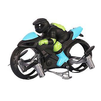 Racing Stunt Kid Toy Race Motorcycle Bike Boy Toys Cars  Motorcycle Motorbike Remote Control(Blue)