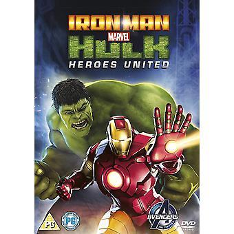 Iron Man en Hulk: Heroes United DVD