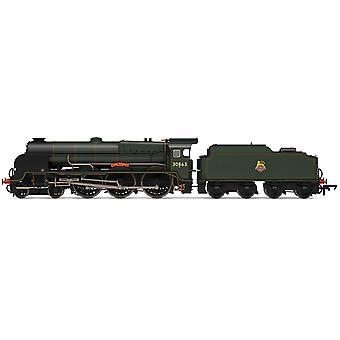 הורנבי BR לורד נלסון בכיתה 4-6-0 30863 לורד רודני עידן 4 מודל רכבת