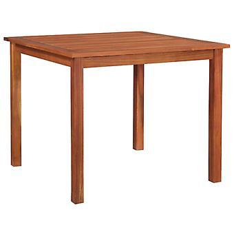 Gartentisch 85X85X74 Cm Massives Akazienholz
