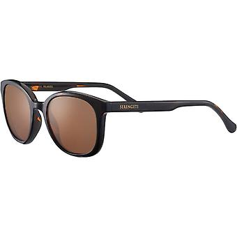 Serengeti Mara 8986 Shiny Tortoise/Mineral Polarized Drivers Gold Sunglasses