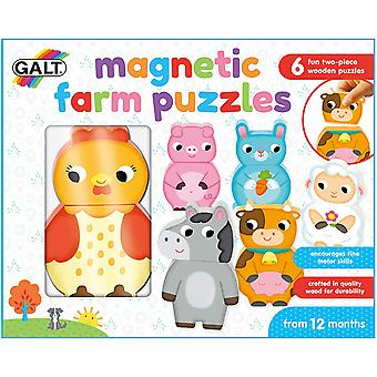 Magnetic Farm First Years Puzzles