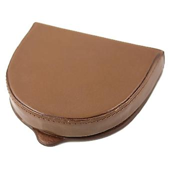 Genuine Leather Hard Wearing Coin - Tray Wallet