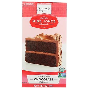 Miss Jones Baking Co Mix Cake Chocolate Org, Case of 6 X 15.87 Oz