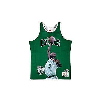 Mitchell & Ness Nba Boston Celtics Kevin Garnett MSTKSC19048BCEKYGNKGA koripallo koko vuoden miesten t-paita