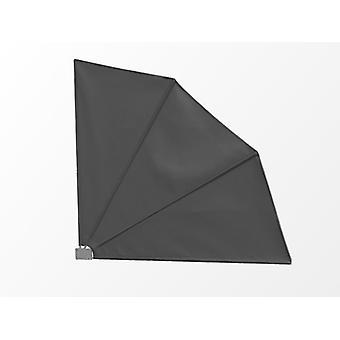 Sidemarkise, Sammenfoldelig, 1,4x1,4m, Grå