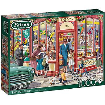 Jumbo 11284 Falcon  The Toy Shop 1000 piece Jigsaw