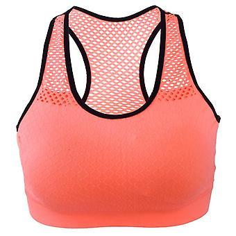 اليوغا حمالة الصدر المرأة عالية تمتد سلك الرياضة مبطن مجانا أعلى سترة اللياقة البدنية السلس للنساء