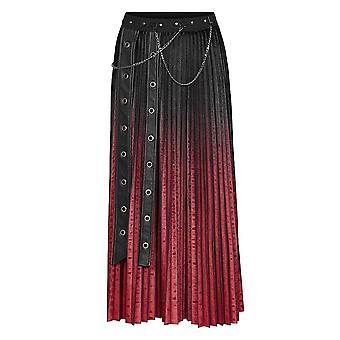Punk Rave Pretty In Pleats Velvet Skirt