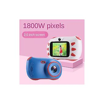Kids Camera,camera For Kids Childrens Digital Camera 2.0 Inches Ips Hd Screen 18 Million Pixels 1080p Hd Video Childrens Birthday Christmas And New Ye