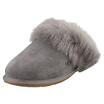 UGG Scuff Sis Womens Slippers Shoes in Charcoal