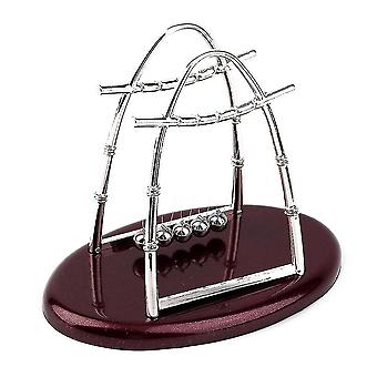 Hot newton's cradle steel balance ball physics science pendulum desktop gift