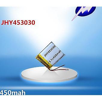 453030 Smart Watch akkumulátor speciális polimer újratölthető cella