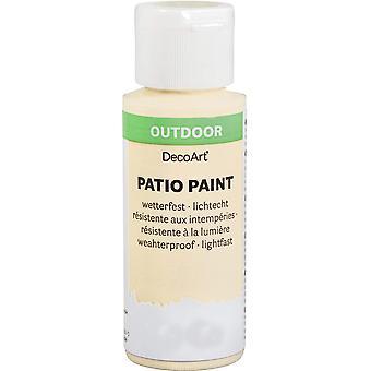 59ml Outdoor Patio Verf - Ivoor
