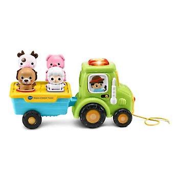 Board games shapes animals tractor educational toy