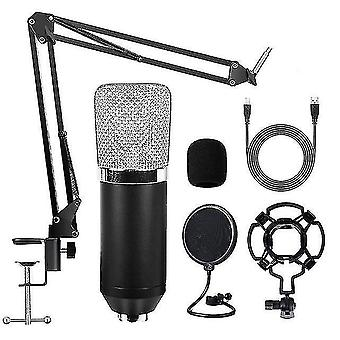 Microphones bm700 condenser microphone usb professional streaming studio microphone kit for live conference home