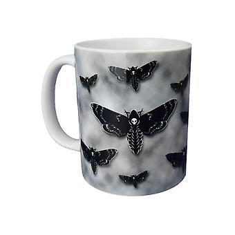 Extreme Largeness Death's Head Moth Mug