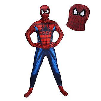 Spiderman Cosplay One Piece Costume Children's Halloween Anime Character Dress Up